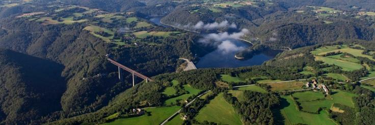 barrage et viaduc